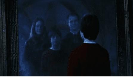 Harry vede i suoi genitori riflessi