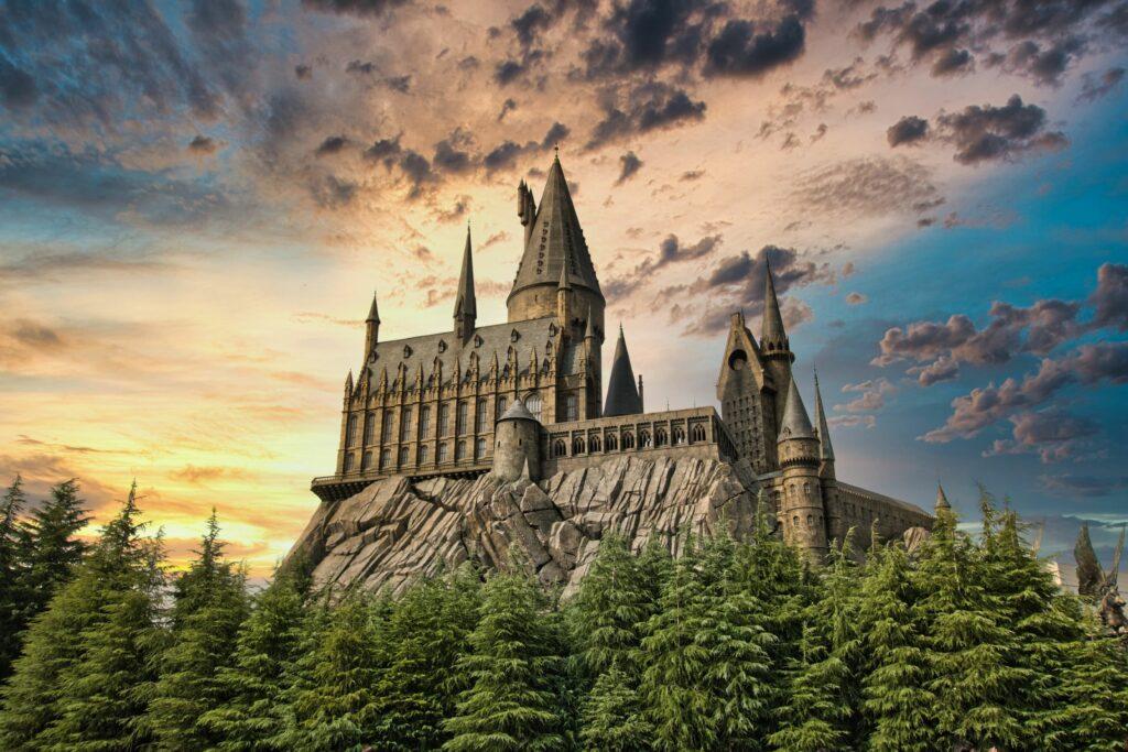 vista di Hogwarts
